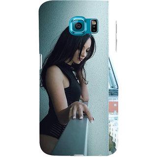Ifasho Designer Back Case Cover For Samsung Galaxy S6 Edge :: Samsung Galaxy S6 Edge G925 :: Samsung Galaxy S6 Edge G925I G9250  G925A G925F G925Fq G925K G925L  G925S G925T (Girl Buenos Aires Argentina Girl Zipper Sweatshirt)