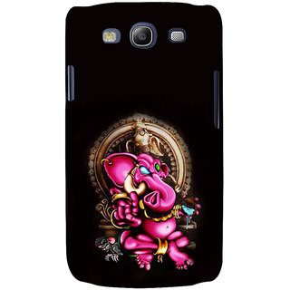 Ifasho Designer Back Case Cover For Samsung Galaxy S3 Neo I9300I :: Samsung I9300I Galaxy S3 Neo :: Samsung Galaxy S Iii Neo+ I9300I :: Samsung Galaxy S3 Neo Plus (Ganesh Lima Spiritual T Shirts Firozpur)