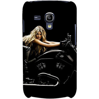 Ifasho Designer Back Case Cover For Samsung Galaxy S3 Mini I8190 :: Samsung I8190 Galaxy S Iii Mini :: Samsung I8190N Galaxy S Iii Mini  (School Art Car Industry)