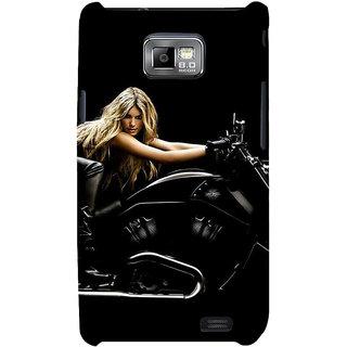 Ifasho Designer Back Case Cover For Samsung Galaxy S2 I9100 :: Samsung I9100 Galaxy S Ii (School Art Car Industry)