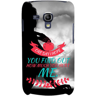 Ifasho Designer Back Case Cover For Samsung Galaxy S3 Mini I8190 :: Samsung I8190 Galaxy S Iii Mini :: Samsung I8190N Galaxy S Iii Mini  (Conjunction  Physical Education)