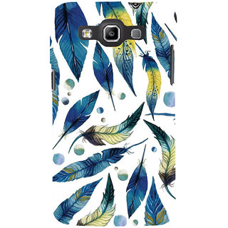 Ifasho Designer Back Case Cover For Samsung Galaxy Win I8550 :: Samsung Galaxy Grand Quattro :: Samsung Galaxy Win Duos I8552 (Tribal Design Feather Wuhan Africa Modinagar)