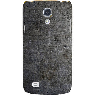 Ifasho Designer Back Case Cover For Samsung Galaxy S4 I9500 :: Samsung I9500 Galaxy S4 :: Samsung I9505 Galaxy S4 :: Samsung Galaxy S4 Value Edition I9515 I9505G (Rough Lining Tribal Hole Wall)