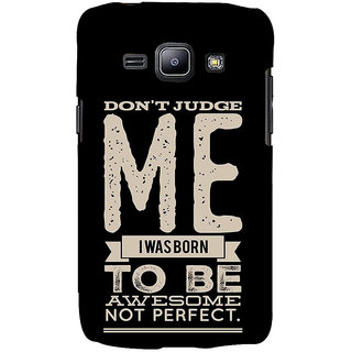 Ifasho Designer Back Case Cover For Samsung Galaxy J2 J200G (2015) :: Samsung Galaxy J2 Duos (2015) :: Samsung Galaxy J2 J200F J200Y J200H J200Gu  (Don?T Judge Me American)