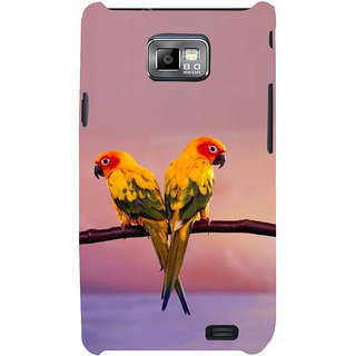 Ifasho Designer Back Case Cover For Samsung Galaxy S2 I9100 :: Samsung I9100 Galaxy S Ii (Specis Beautiful Birds Tota Pets Pet Bird)