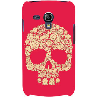 Ifasho Designer Back Case Cover For Samsung Galaxy S3 Mini I8190 :: Samsung I8190 Galaxy S Iii Mini :: Samsung I8190N Galaxy S Iii Mini  (Skeleton Taiyuan Scary Teeth Scary Remote Control Toys)