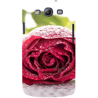 Ifasho Designer Back Case Cover For Samsung Galaxy S3 I9300 :: Samsung I9305 Galaxy S Iii :: Samsung Galaxy S Iii Lte (Evening Party Idli Sociality Rose Fertilizer Rose 24 Acme )