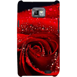 Ifasho Designer Back Case Cover For Samsung Galaxy S2 I9100 :: Samsung I9100 Galaxy S Ii (Corroboree Rose Hair Clip 3 Roses Tea Powder Chief Prime Head Choice)