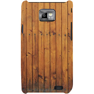 Ifasho Designer Back Case Cover For Samsung Galaxy S2 I9100 :: Samsung I9100 Galaxy S Ii (Sandra Model Ls Dreams Woodd 6 Inch Speakers)