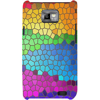 Ifasho Designer Back Case Cover For Samsung Galaxy S2 I9100 :: Samsung I9100 Galaxy S Ii (Free Teeny Angels Line Board)