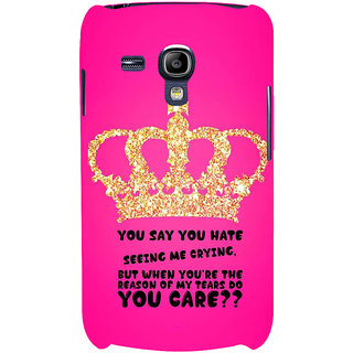 Ifasho Designer Back Case Cover For Samsung Galaxy S3 Mini I8190 :: Samsung I8190 Galaxy S Iii Mini :: Samsung I8190N Galaxy S Iii Mini  (Divorce  Texas Education)