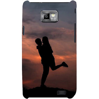 Ifasho Designer Back Case Cover For Samsung Galaxy S2 I9100 :: Samsung I9100 Galaxy S Ii (Comparison  Relationships Friends Dating Delhi)