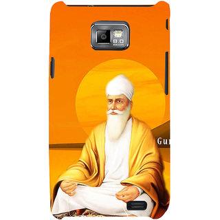 Ifasho Designer Back Case Cover For Samsung Galaxy S2 I9100 :: Samsung I9100 Galaxy S Ii (Guru Govind Singh Guru Nanak Guru Teg Bahadur)