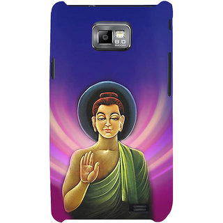 Ifasho Designer Back Case Cover For Samsung Galaxy S2 I9100 :: Samsung I9100 Galaxy S Ii (Budha Lord Siddharth  Budha Music Buddha Painting Buddha Photos)