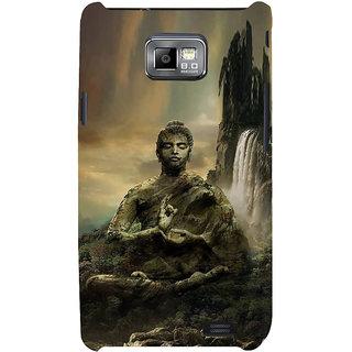 Ifasho Designer Back Case Cover For Samsung Galaxy S2 I9100 :: Samsung I9100 Galaxy S Ii (Budha Lord Siddharth  Buddha Night Lamp Buddha Posters Budha Quotes T Shirts)
