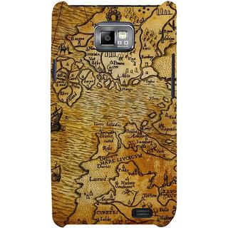 Ifasho Designer Back Case Cover For Samsung Galaxy S2 I9100 :: Samsung I9100 Galaxy S Ii (Globe Antique Globe Enamel Globe Hiking Globe Casual Shoes)