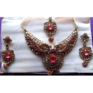Fashion Jewellery Bollywood Necklace Earring Set