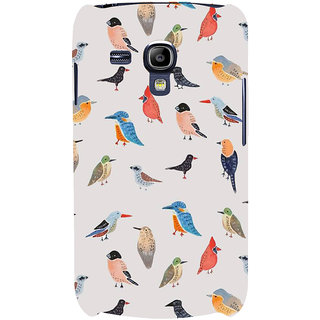 Ifasho Designer Back Case Cover For Samsung Galaxy S3 Mini I8190 :: Samsung I8190 Galaxy S Iii Mini :: Samsung I8190N Galaxy S Iii Mini  (Birds Drawings Bird Trap Bird Wall Stickers Bird Stand)