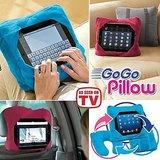 3IN1 GO GO PILLOW NECK Pillow TABLET PILLOW BED PILLOW CAR PILLOW AS SEEN ON TV