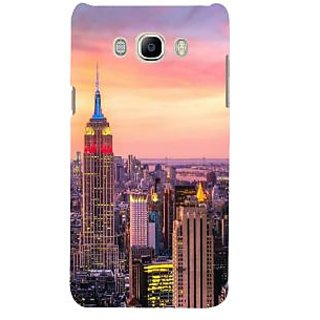Ifasho Designer Back Case Cover For Samsung Galaxy J7 (6) 2016 :: Samsung Galaxy J7 2016 Duos :: Samsung Galaxy J7 2016 J710F J710Fn J710M J710H  (Cities Roma Italy Allahabad)