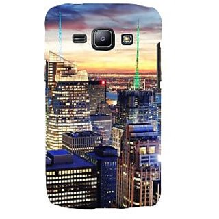 Ifasho Designer Back Case Cover For Samsung Galaxy J1 (2015) :: Samsung Galaxy J1 4G (2015) :: Samsung Galaxy J1 4G Duos :: Samsung Galaxy J1 J100F J100Fn J100H J100H/Dd J100H/Ds J100M J100Mu (Cities Wuhan China Kollam)