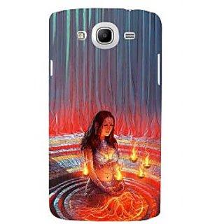 Ifasho Designer Back Case Cover For Samsung Galaxy Mega 5.8 I9150 :: Samsung Galaxy Mega Duos 5.8 I9152 (Draupadi Sati Pandav Mahabharat Colombia West Bengal)