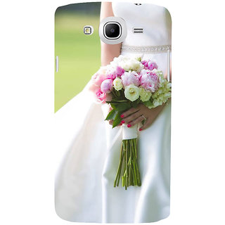 Ifasho Designer Back Case Cover For Samsung Galaxy Mega 5.8 I9150 :: Samsung Galaxy Mega Duos 5.8 I9152 (Brahma Kamal Jovial  Rose Nozzle Tip Nonpareil Elite Cream Inexpedience)
