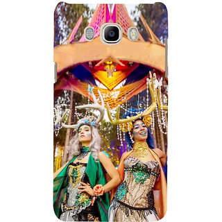 Ifasho Designer Back Case Cover For Samsung Galaxy J7 (6) 2016 :: Samsung Galaxy J7 2016 Duos :: Samsung Galaxy J7 2016 J710F J710Fn J710M J710H  (Designer Sarees  Girly Stuff For Teens)