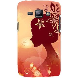 Ifasho Designer Back Case Cover For Samsung Galaxy J1 (2015) :: Samsung Galaxy J1 4G (2015) :: Samsung Galaxy J1 4G Duos :: Samsung Galaxy J1 J100F J100Fn J100H J100H/Dd J100H/Ds J100M J100Mu (Girl Design Calcutta India Girl Vest)