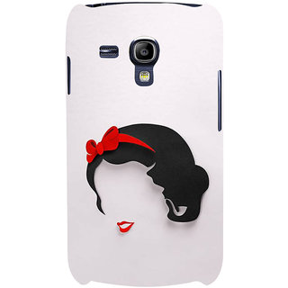 Ifasho Designer Back Case Cover For Samsung Galaxy S3 Mini I8190 :: Samsung I8190 Galaxy S Iii Mini :: Samsung I8190N Galaxy S Iii Mini  (Girl Delhi India Girl Winter Wear)