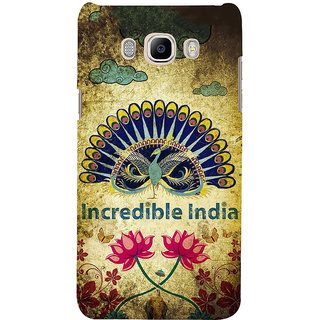 Ifasho Designer Back Case Cover For Samsung Galaxy J7 (6) 2016 :: Samsung Galaxy J7 2016 Duos :: Samsung Galaxy J7 2016 J710F J710Fn J710M J710H  (Design Lights  Girly Quote Frame)