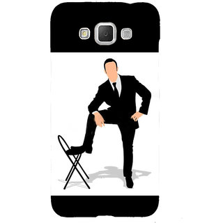Ifasho Designer Back Case Cover For Samsung Galaxy Grand Prime :: Samsung Galaxy Grand Prime Duos :: Samsung Galaxy Grand Prime G530F G530Fz G530Y G530H G530Fz/Ds (A Man For All Markets Man Blazer Party Wear A Man Called Ove)