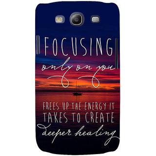 Ifasho Designer Back Case Cover For Samsung Galaxy S3 Neo I9300I :: Samsung I9300I Galaxy S3 Neo :: Samsung Galaxy S Iii Neo+ I9300I :: Samsung Galaxy S3 Neo Plus (Rapport  Education Department)
