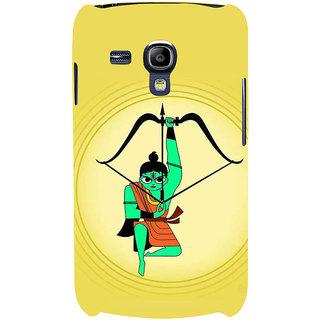 Ifasho Designer Back Case Cover For Samsung Galaxy S3 Mini I8190 :: Samsung I8190 Galaxy S Iii Mini :: Samsung I8190N Galaxy S Iii Mini  (Lakshya Veda Dhanush Arrow Bow Draupadi )