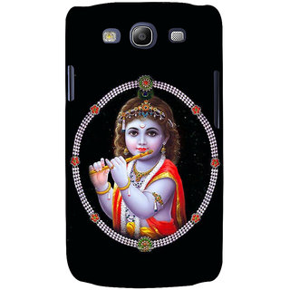 Ifasho Designer Back Case Cover For Samsung Galaxy S3 I9300 :: Samsung I9305 Galaxy S Iii :: Samsung Galaxy S Iii Lte (Krishna Tashkent Uzbekistan Vishnu Puran Dvd)