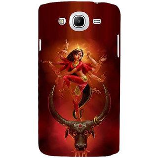 Ifasho Designer Back Case Cover For Samsung Galaxy Mega 5.8 I9150 :: Samsung Galaxy Mega Duos 5.8 I9152 (Durga Kanpur India Kolkata)