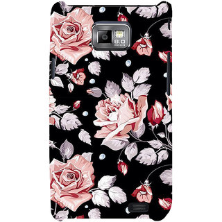 Ifasho Designer Back Case Cover For Samsung Galaxy S2 I9100 :: Samsung I9100 Galaxy S Ii (Lilium Candidum Happy  Rose Kanti Soap Efflorescence Bloom Better Nature)