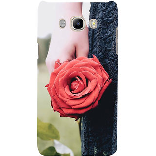 Ifasho Designer Back Case Cover For Samsung Galaxy J7 (6) 2016 :: Samsung Galaxy J7 2016 Duos :: Samsung Galaxy J7 2016 J710F J710Fn J710M J710H  (Siroi Lily Hen Party Idli Sociality Rose Lip Balm Heyday Top Fat Summit)
