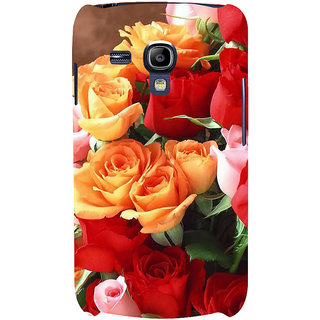 Ifasho Designer Back Case Cover For Samsung Galaxy S3 Mini I8190 :: Samsung I8190 Galaxy S Iii Mini :: Samsung I8190N Galaxy S Iii Mini  (Rose Garden Different Colours Rose)