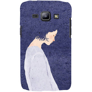 Ifasho Designer Back Case Cover For Samsung Galaxy J1 (2015) :: Samsung Galaxy J1 4G (2015) :: Samsung Galaxy J1 4G Duos :: Samsung Galaxy J1 J100F J100Fn J100H J100H/Dd J100H/Ds J100M J100Mu (Girl Kinshasa Congo (Zaire) Girl Very Short Dress)