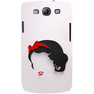 Ifasho Designer Back Case Cover For Samsung Galaxy S3 I9300 :: Samsung I9305 Galaxy S Iii :: Samsung Galaxy S Iii Lte (Girl Delhi India Girl Winter Wear)
