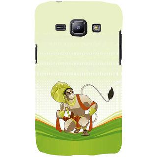 Ifasho Designer Back Case Cover For Samsung Galaxy J2 J200G (2015) :: Samsung Galaxy J2 Duos (2015) :: Samsung Galaxy J2 J200F J200Y J200H J200Gu  (Flying Man Lord Hanuman Sree Ram Kala Ram)