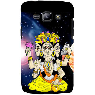 Ifasho Designer Back Case Cover For Samsung Galaxy J2 J200G (2015) :: Samsung Galaxy J2 Duos (2015) :: Samsung Galaxy J2 J200F J200Y J200H J200Gu  (Lord Brahma Surabaya Spiritual Decoration Hajipur)