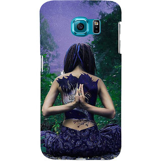 Ifasho Designer Back Case Cover For Samsung Galaxy S6 G920I :: Samsung Galaxy S6 G9200 G9208 G9208/Ss G9209 G920A G920F G920Fd G920S G920T (Yoga Seoul South Korea Yoga Outfit For Girls)