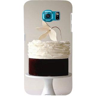 Ifasho Designer Back Case Cover For Samsung Galaxy S6 G920I :: Samsung Galaxy S6 G9200 G9208 G9208/Ss G9209 G920A G920F G920Fd G920S G920T (Cake Rio De Janeiro Brazil Hoshiarpur)