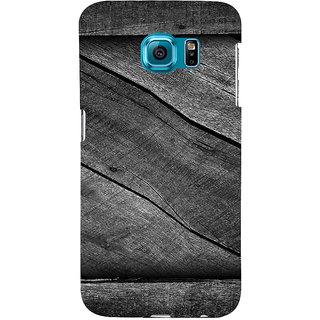 Ifasho Designer Back Case Cover For Samsung Galaxy S6 G920I :: Samsung Galaxy S6 G9200 G9208 G9208/Ss G9209 G920A G920F G920Fd G920S G920T (Capricorn Wikipedia Wood Veneer)