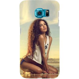 Ifasho Designer Back Case Cover For Samsung Galaxy S6 G920I :: Samsung Galaxy S6 G9200 G9208 G9208/Ss G9209 G920A G920F G920Fd G920S G920T (Girl Ahmedabad India Girl Zeans)