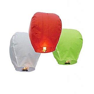 Skycandle Multicolor Sky Lanterns
