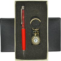 Jaycoknit Knight N Day Antiqueo Red Pen Gift Set  (Pack