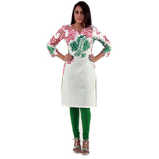 Mirroni Cotton  Print Kurtis